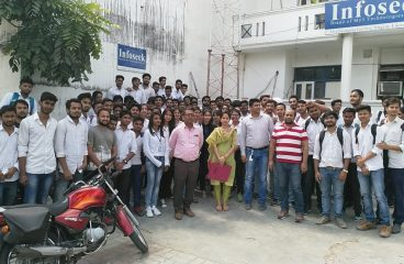 Industrial Visit By BBD